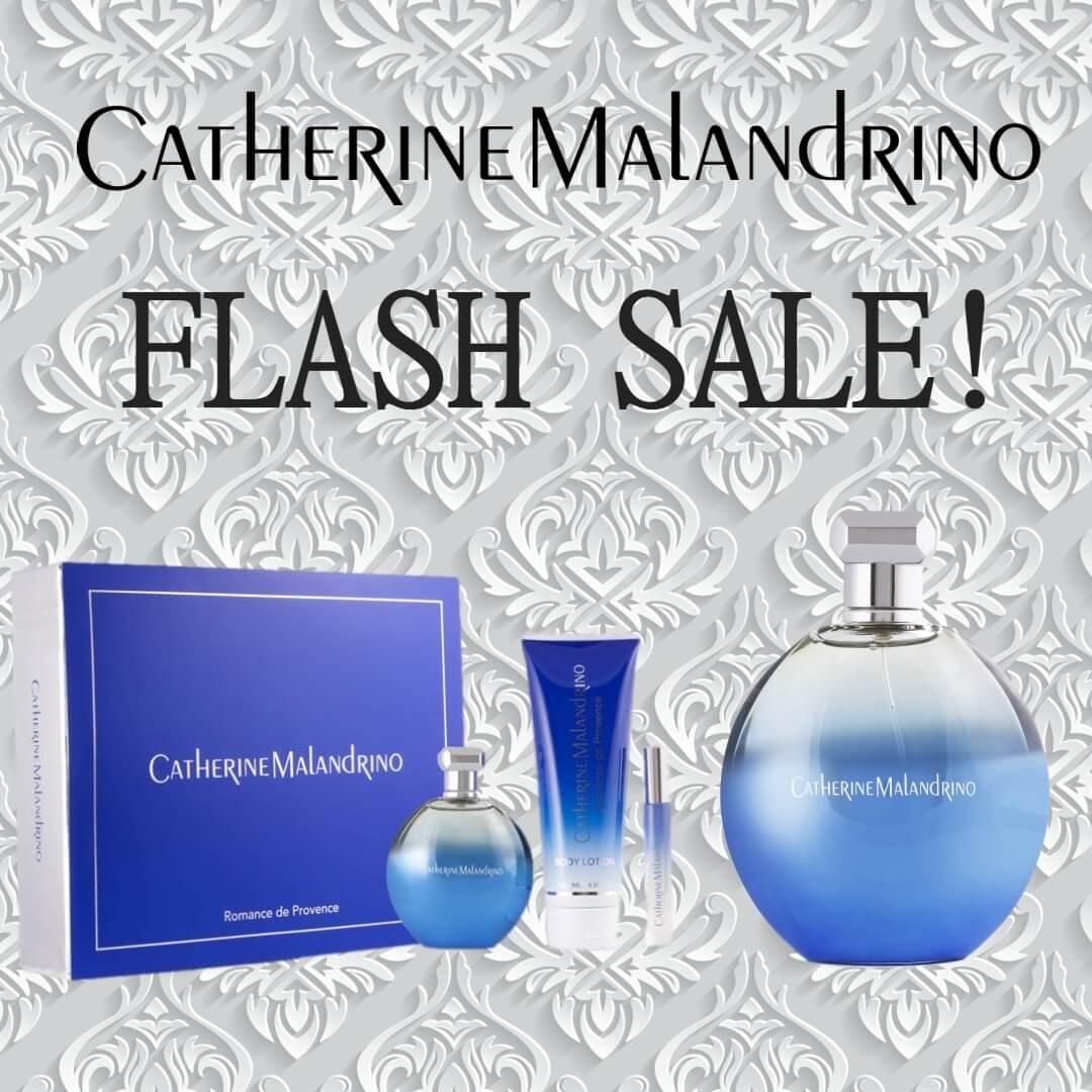 FLASH SALE - Catherine Malandrino Romance de Provence Gift Set + Catherine Malandrino Romance de Provence EDP Fragrance 1oz