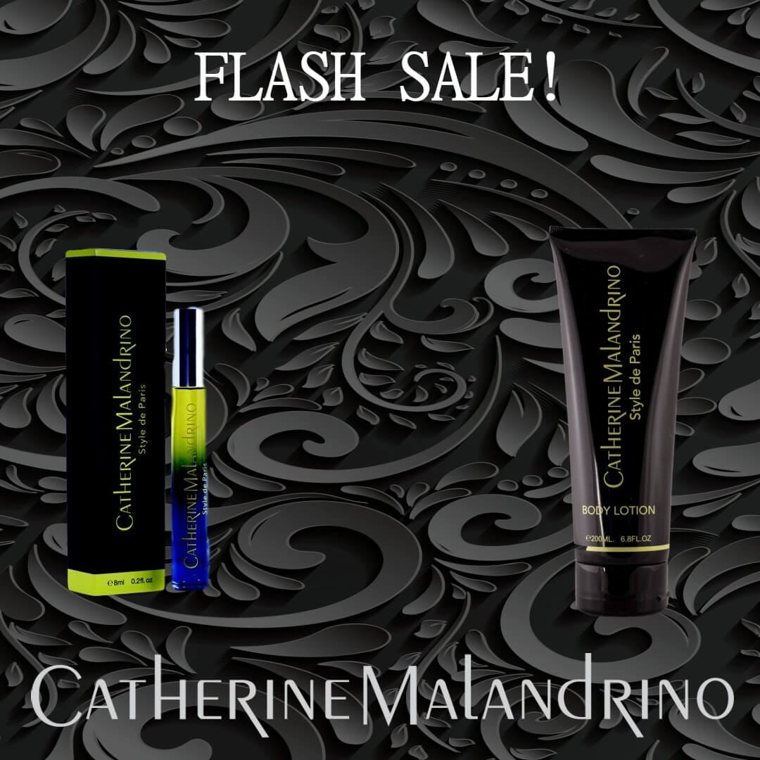 FLASH SALE - Catherine Malandrino Style de Paris 8ml rollerball + Catherine Malandrino Style de Paris Body Lotion 6.8 oz/200ml